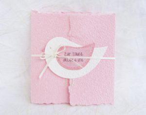 Weiss auf rosa