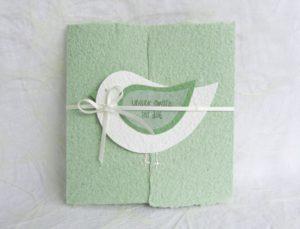 Weiss auf grün