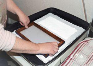 Papierschöpfen